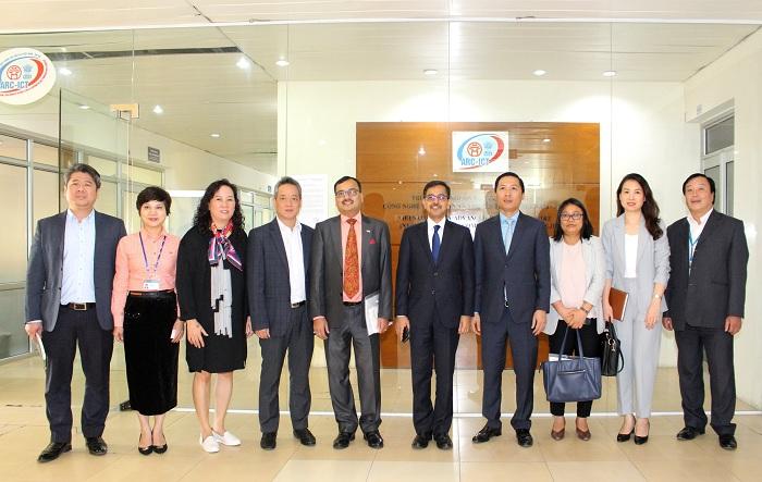 Thúc đẩy triển khai dự án giai đoạn 2, Trung tâm nguồn lực CNTT&TT Việt Nam - Ấn Độ - Ảnh 2.
