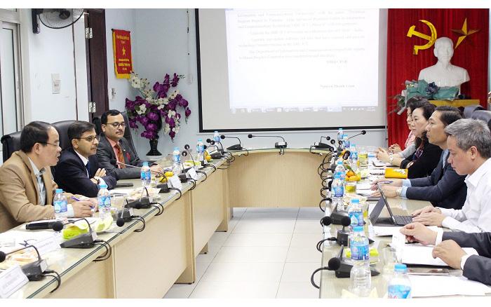 Thúc đẩy triển khai dự án giai đoạn 2, Trung tâm nguồn lực CNTT Việt Nam - Ấn Độ