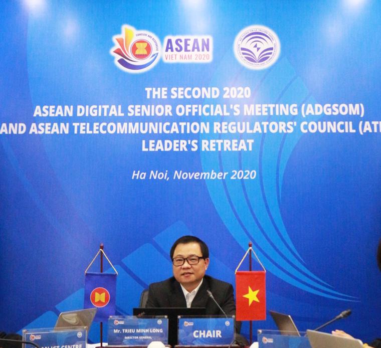 ASEAN hợp tác đẩy mạnh triển khai 5G và chuyển đổi số - Ảnh 1.