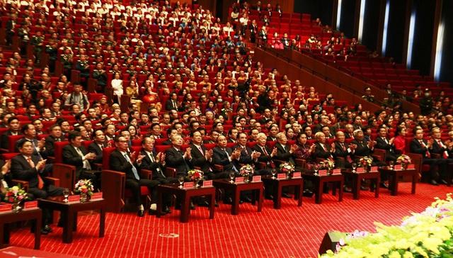 Tổ chức trọng thể Lễ kỷ niệm 90 năm Ngày truyền thống Mặt trận Tổ quốc Việt Nam - Ảnh 3.