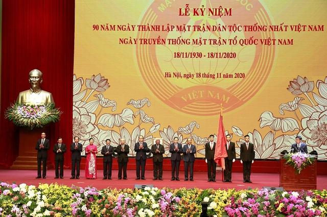 Tổ chức trọng thể Lễ kỷ niệm 90 năm Ngày truyền thống Mặt trận Tổ quốc Việt Nam - Ảnh 5.