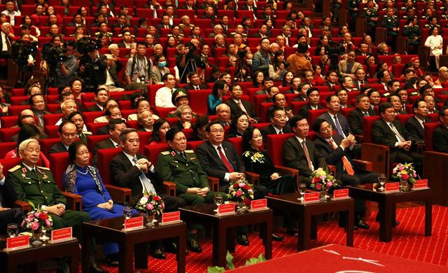 Tổ chức trọng thể Lễ kỷ niệm 90 năm Ngày truyền thống Mặt trận Tổ quốc Việt Nam - Ảnh 4.
