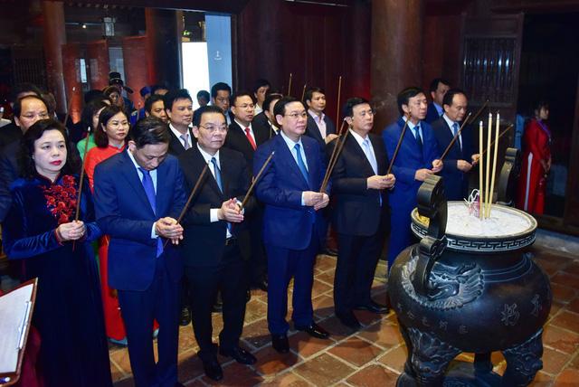 Tổ chức trọng thể Lễ kỷ niệm 650 năm Ngày mất danh nhân Chu Văn An - Ảnh 1.