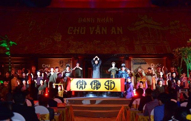 Tổ chức trọng thể Lễ kỷ niệm 650 năm Ngày mất danh nhân Chu Văn An - Ảnh 4.