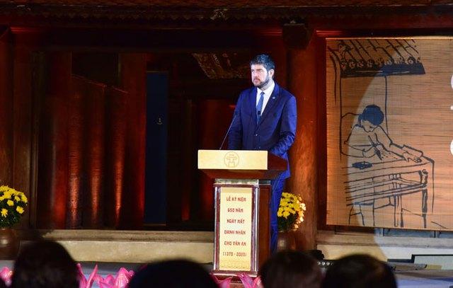 Tổ chức trọng thể Lễ kỷ niệm 650 năm Ngày mất danh nhân Chu Văn An - Ảnh 5.