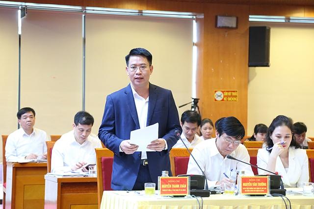 Bí thư Thành ủy Vương Đình Huệ làm việc với lãnh đạo quận Hà Đông - Ảnh 2.