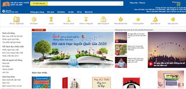 Kéo dài thời gian tổ chức Hội sách trực tuyến quốc gia 2020 - Ảnh 1.