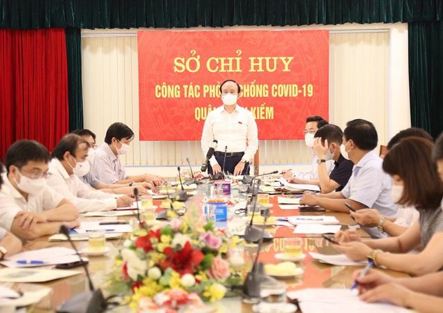 Chủ tịch HĐND TP Nguyễn Ngọc Tuấn: Hoàn Kiếm triển khai ngay 6 nhiệm vụ để phòng dịch hiệu quả - Ảnh 2.