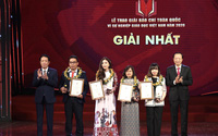 """Trao Giải báo chí toàn quốc """"Vì sự nghiệp Giáo dục Việt Nam"""" năm 2020"""