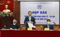 Họp báo thông tin tình hình KT-XH tháng 2 năm 2021 của thành phố Hà Nội