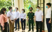 Kiểm tra công tác phòng, chống dịch Covid-19 và chuẩn bị kỳ thi vào lớp 10 THPT tại huyện Thanh Oai, quận Thanh Xuân