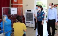 Tổ chức các dây chuyền tiêm an toàn, khoa họcđể kiểm soát dịch bệnh tại huyện Thanh Trì