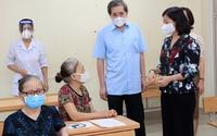 Quận Ba Đình: Gần 95% người dân trong độ tuổi đã tiêm mũi 1 vắc xin phòng Covid-19
